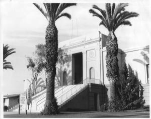 Historic Huntington - Old city hall entrance - Memorial Hall -1923-1974